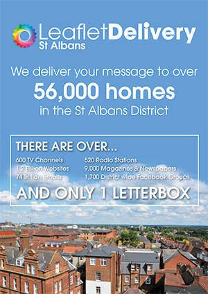 leaflet delivery distribution st albans